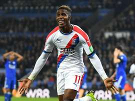 Zaha hints at Palace exit, eyes Champions League.