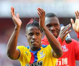 Zaha was key in Palace's surprise win at the Emirates. GOAL