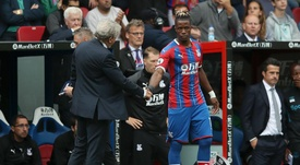Hodgson says Wilfried Zaha could still leave this summer. GOAL