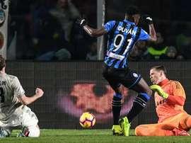 Doppietta di Zapata. Goal