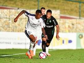 Le jeune Youssouf en action. Goal