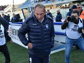 Triumphant return by Zdenek Zeman. Goal