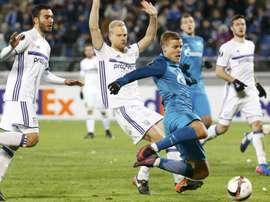 Ajax, Gent, Roma, Anderlecht e os classificados para as oitavas de final da Liga Europa
