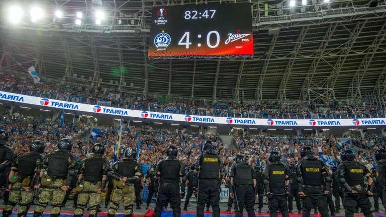 Europa League, incredibile Zenit: rimonta e vince 8-1