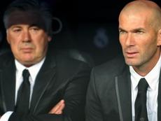 Ancelotti encense Zidane. Goal