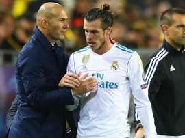 Zidane hits back at claims he disrespected Bale.