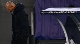 Zidane après le match. goal