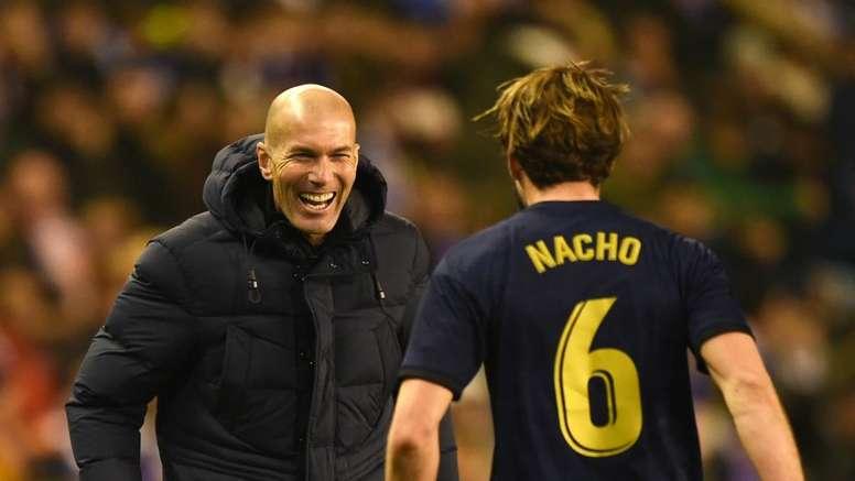 Zidane wants Real Madrid finishing improvements after Nacho hits winner. Goal