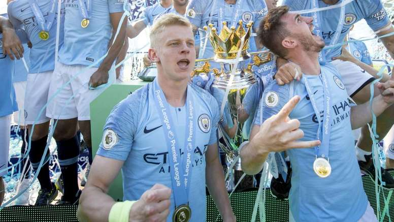 Olexzander Zinchenko has had a superb season for City. GOAL