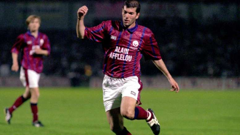Zinedine Zidane during his time as a player. Goal
