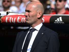 Zidane returned to Real Madrid after just nine months. GOAL