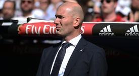 Zidane returned to Real Madrid after just nine months. GOAL