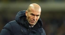 Zidane in jovial mood ahead of draw