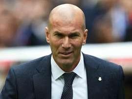 Zidane is looking ahead. GOAL