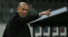 Zinédine Zidane savoure après le succès à San Siro. goal