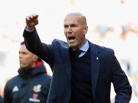 Zinedine Zidane, Real Madrid vs Barcelone. GOAL