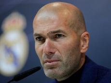 Zidane left in the summer. GOAL