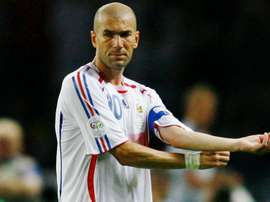 Zidane went out with a bang in the 2006 World Cup Final. GOAL