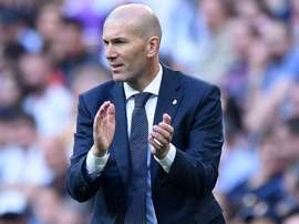 Zidane has recently returned for his second stint as Real Madrid manager. GOAL.