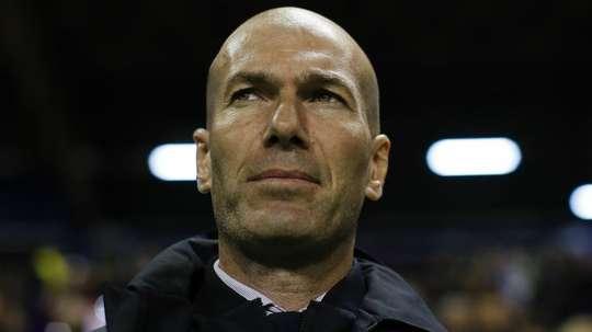 Zidane upbeat despite Madrid's loss
