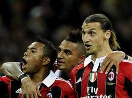 Boateng was teammates with Zlatan at AC Milan. GOAL