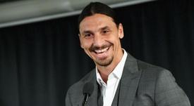Zlatan évoque son prochain club : 'On se voit en Italie'. AFP