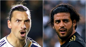 Comparisons with Carlos Vela were not taken well by LA Galaxy striker. GOAL