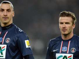 """Beckham vence aposta e ganhará """"fish and chips"""" de Ibra em jogo no Wembley"""