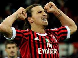 Zlatan Ibrahimovic Milan. Goal