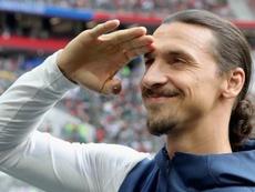 6 mois pour Zlatan à Milan ? AFP