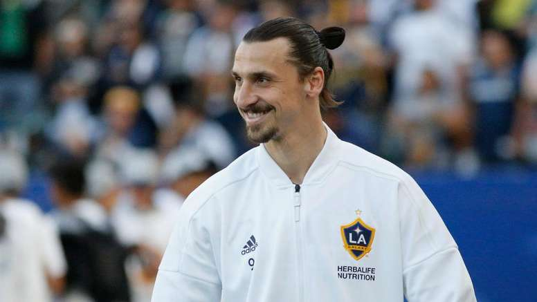 Ibrahimovic was in the goals once again. GOAL