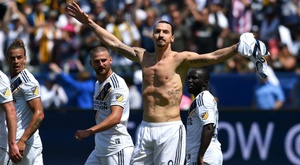 Ibrahimovic turned the game. GOAL