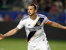 Ibrahimovic breaks Galaxy record with hat-trick in rout