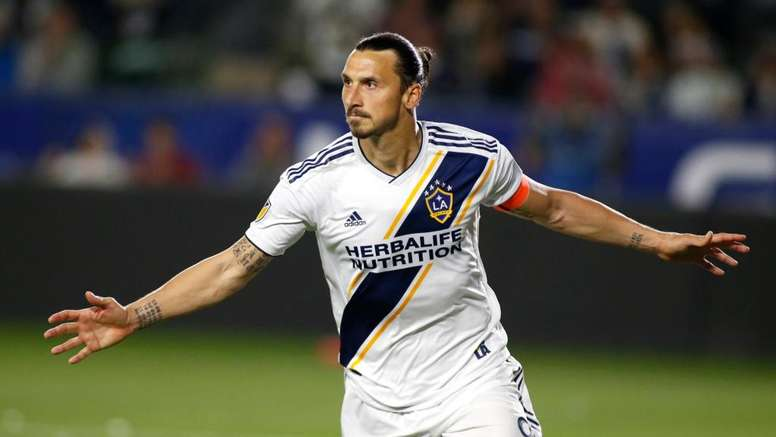 LA Galaxy 3 Los Angeles FC 2: Zlatan dominates LA derby. AFP