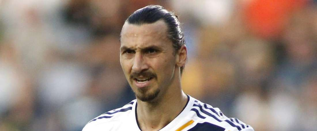 Ibrahimovic helped LA Galaxy end their long winless streak. GOAL