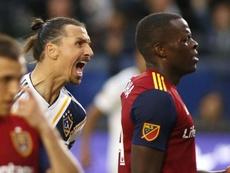 Zlatan scored the winner as LA Galaxy faced Real Salt Lake. GOAL