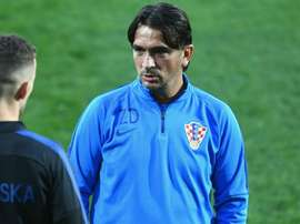Dalic hit out at the English media. GOAL