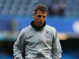 Zola frustrated after been made to wait on Chelsea decision. GOAL