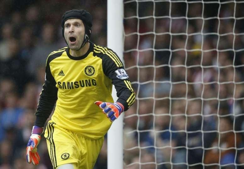Cech effectuera son retour à Chelsea en tant que directeur sportif. AFP