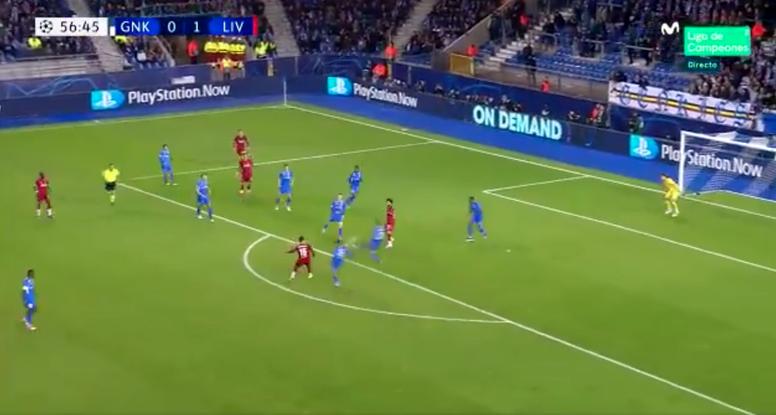 What a goal. Screenshot/Twitter/MovistarFutbol