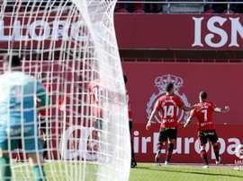 Aridai marcó en el minuto 8 de partido. LaLiga
