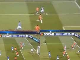 Chiesa marcó un golazo frente a España. Capturas/Cuatro