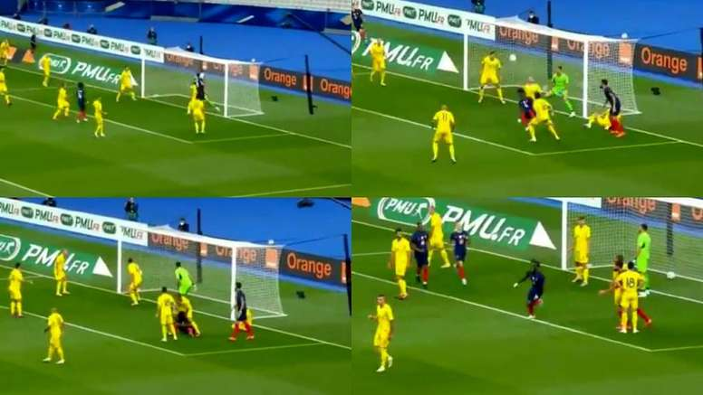 Camavinga marcó de chilena. Capturas/DirectvSports