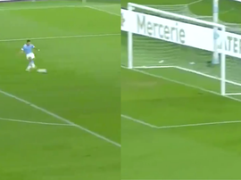 Immobile scored first time. Capturas/beINSports