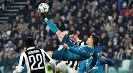 La merveille de CR7 contre la Juve fête ses deux ans. AFP