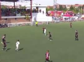 Marcelo's son scored an incredible goal for Real's youth team. RealMadrid/BeSoccer