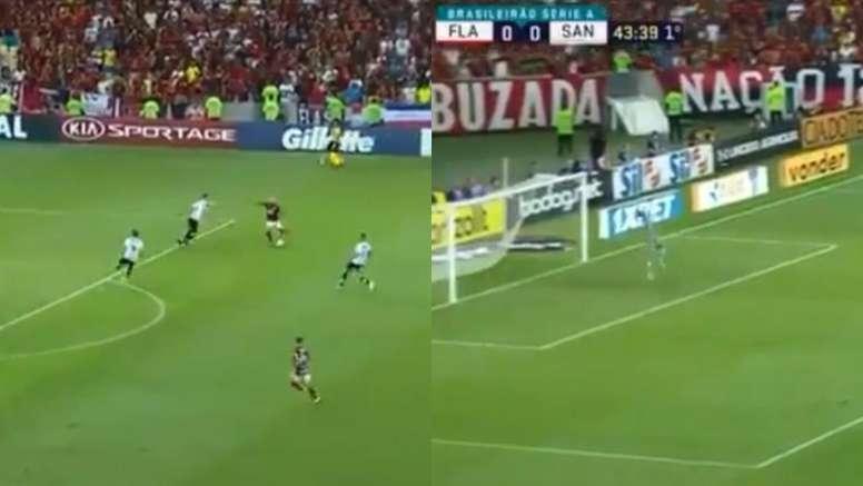 Gabigol inarrestabile con il Flamengo. SporTV