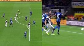 La connexion Cristiano-Higuain marche bien : But de la victoire à Milan. Capturas/#Vamos