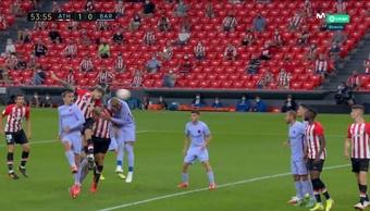 Depay livra o Barça de uma derrota na casa do Athletic Bilbao .Captura/MovistarLaLiga