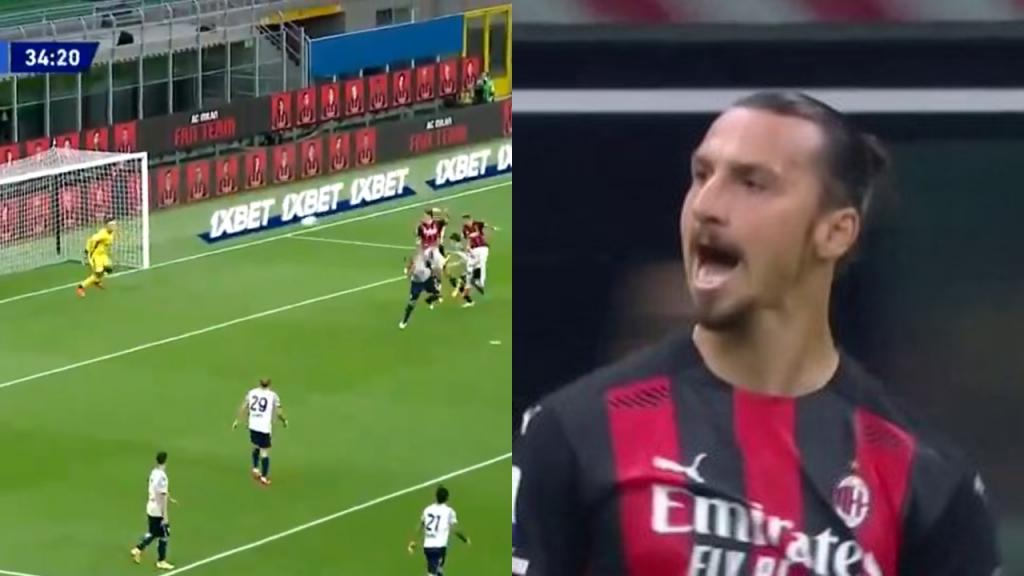 Ibrahimovic sinks Bologna with brace: 'I'm like Benjamin Button'